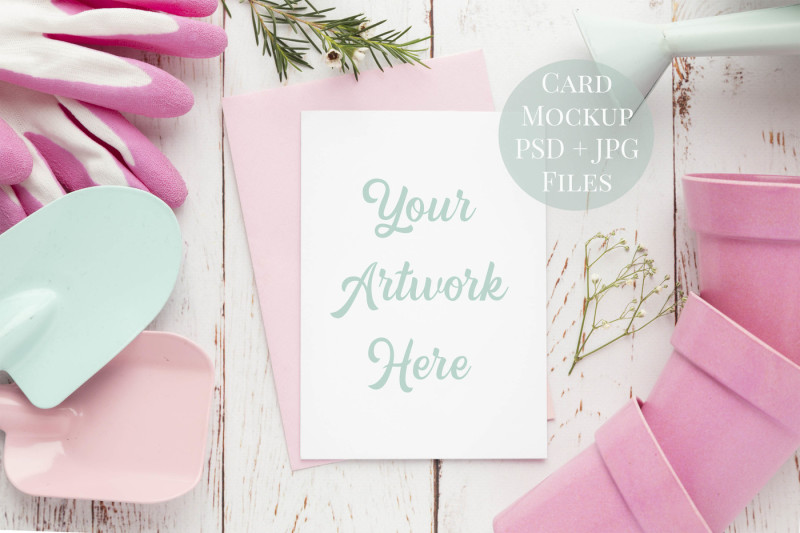 Free Card Mockup - 5 (PSD Mockups)