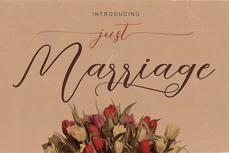 just-marriage-font-duo