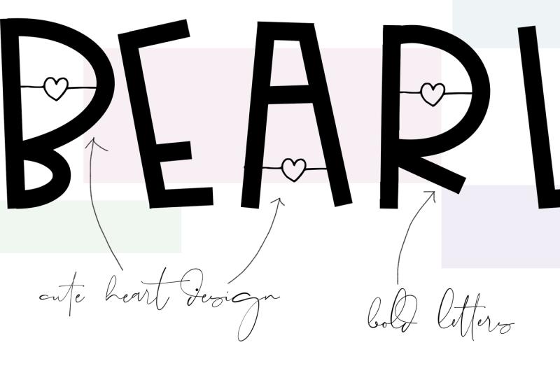 bearly-a-handwritten-font