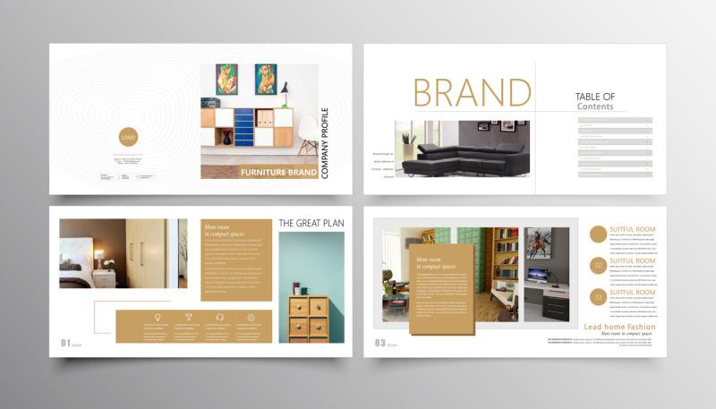 elegant-company-advertise-brochures