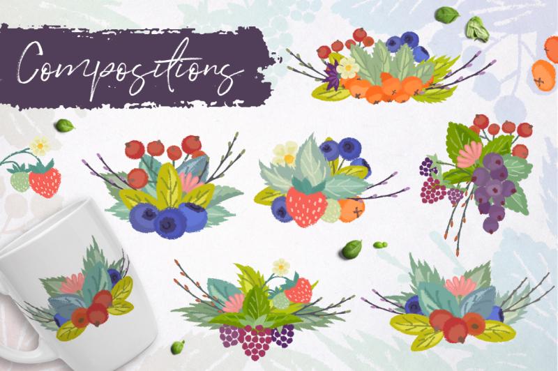 wild-berries-vector-clipart