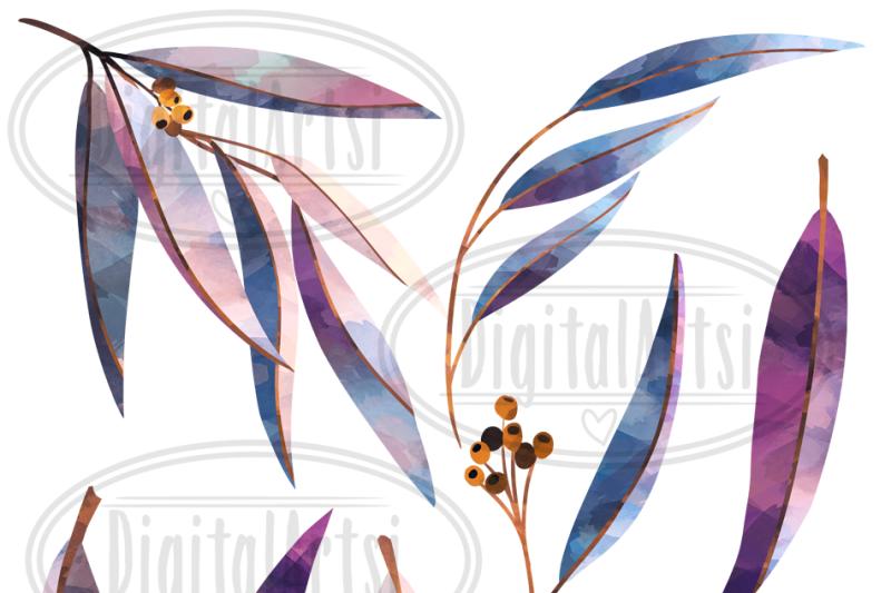 watercolor-eucalyptus-clipart