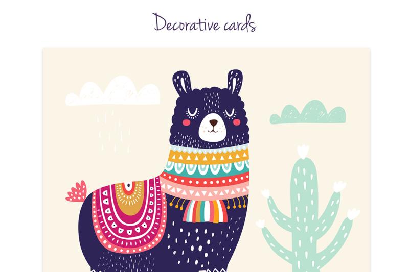 big-decorative-set-with-llama