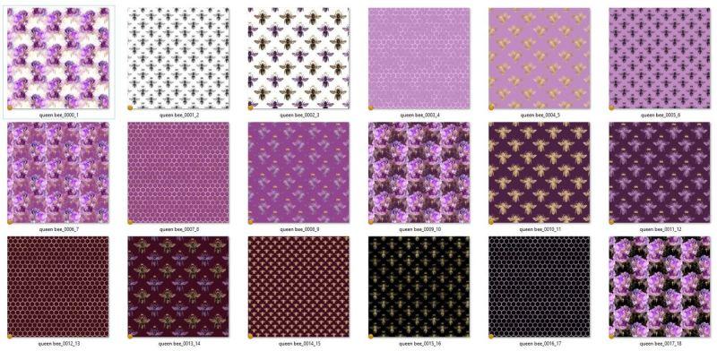 queen-bee-patterns