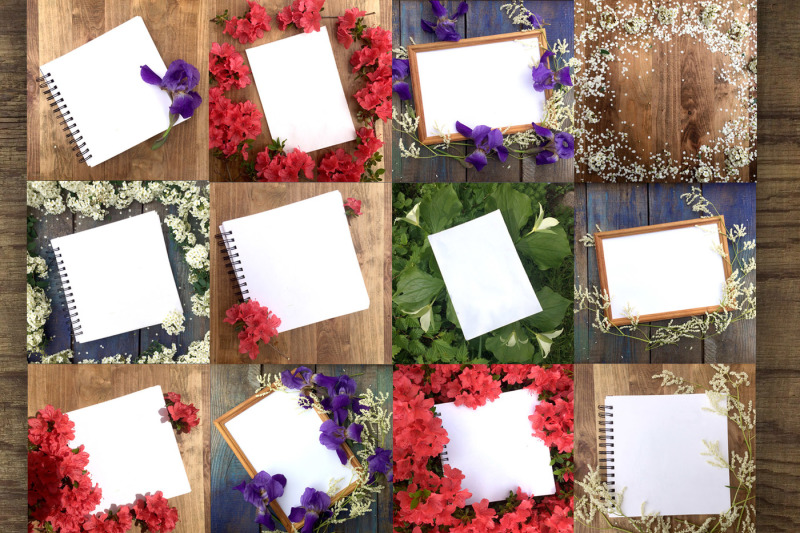 flat-lay-photos-of-notebook