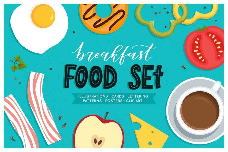 breakfast-food-set