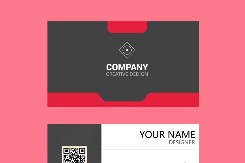 profession-red-business-card-template