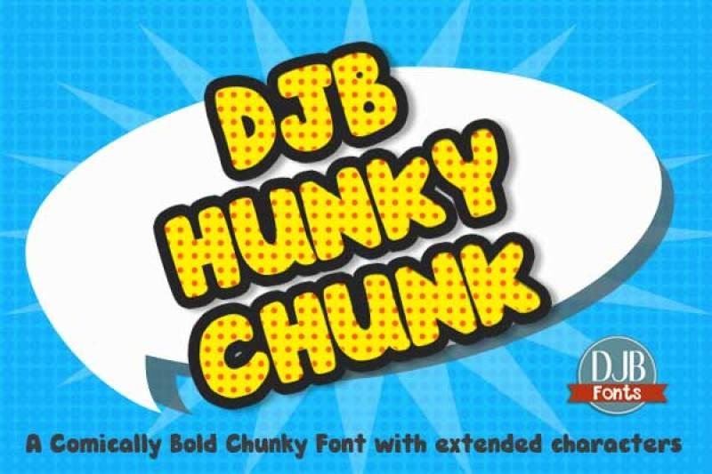 djb-hunky-chunk-font