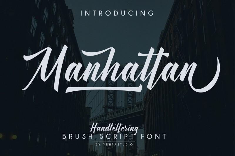 manhattan-brush-script-font-swash