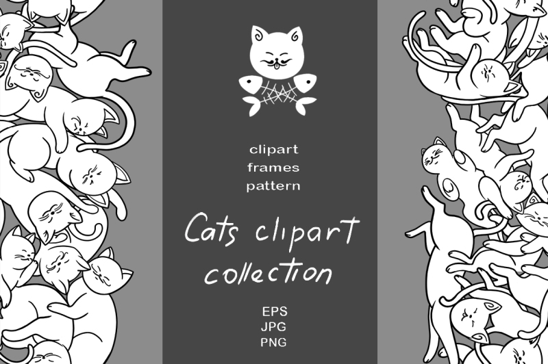 cats-clipart-collection