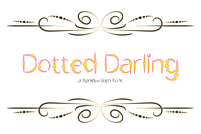 dotted-darling-typeface-2018
