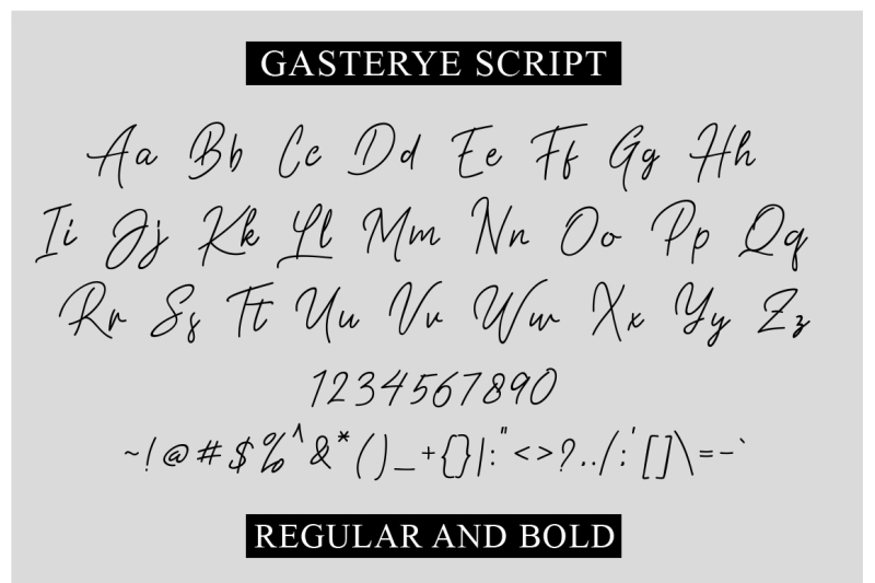 gasterye-script