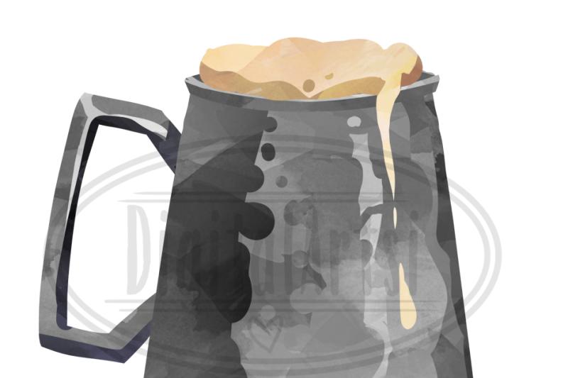 watercolor-beer-clipart
