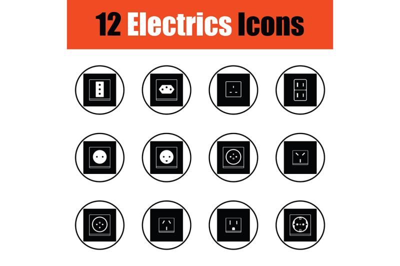 electrics-icon-set