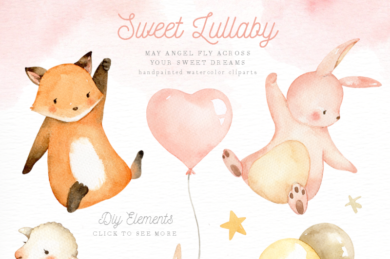 sweet-lullaby-watercolor-clip-art