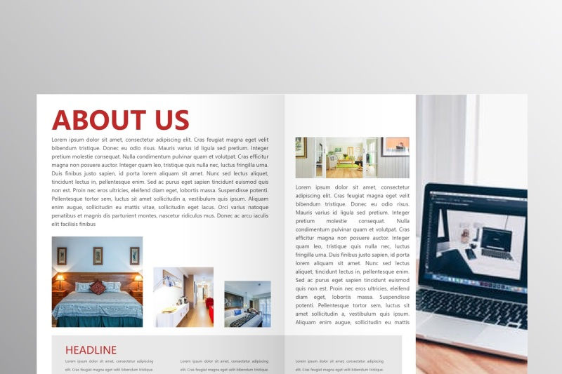 professional-red-brochure-report-template-bundle