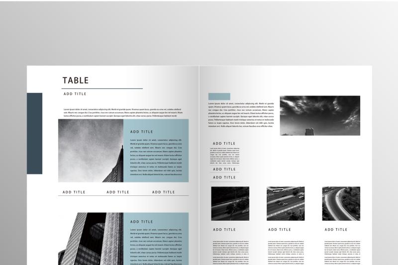 clean-company-brochure-template