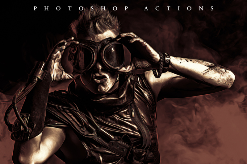 mono-painting-photoshop-action
