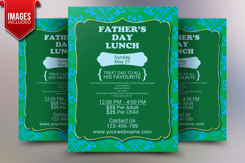 father-s-day-flyer-template