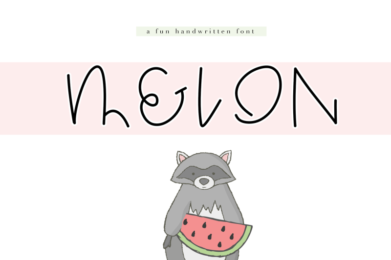 melon-a-fun-handwritten-font