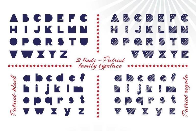 patriot-font-family
