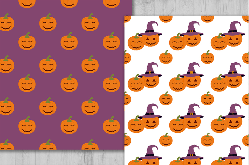 halloween-digital-paper-halloween-pumpkin-digital-paper-pumpkin