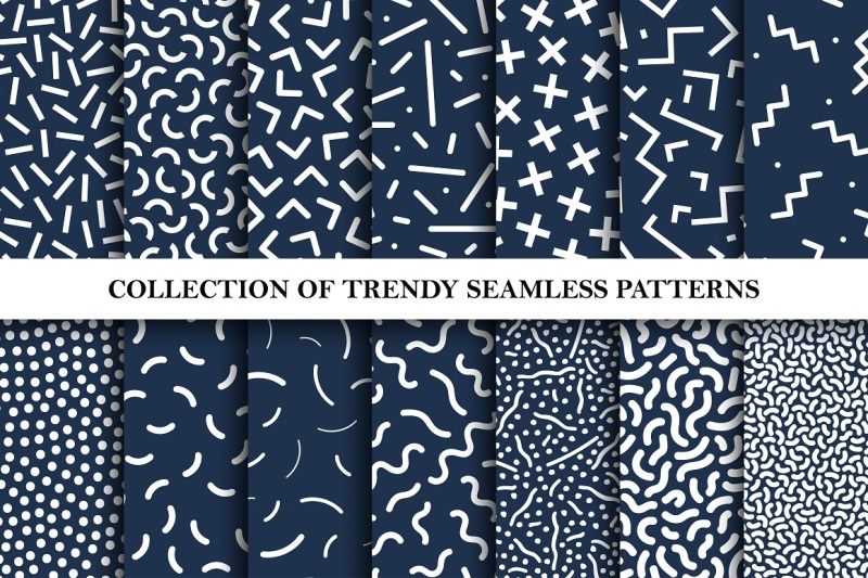 trendy-seamless-memphis-patterns