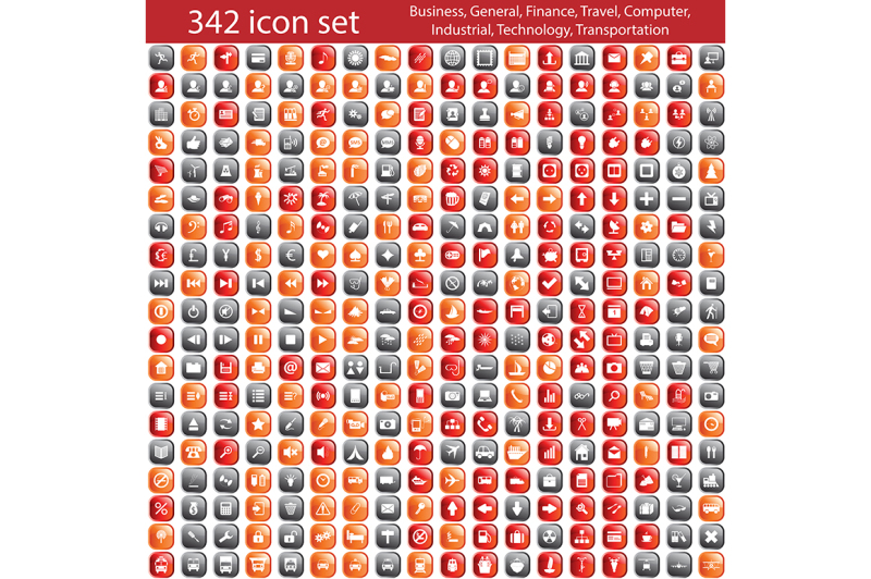 342-icons-in-12-variable-designs