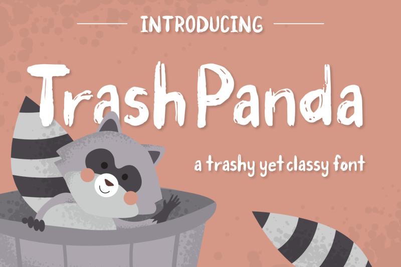 trash-panda-font