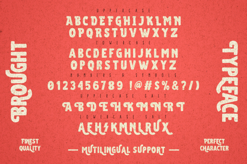 brought-typeface