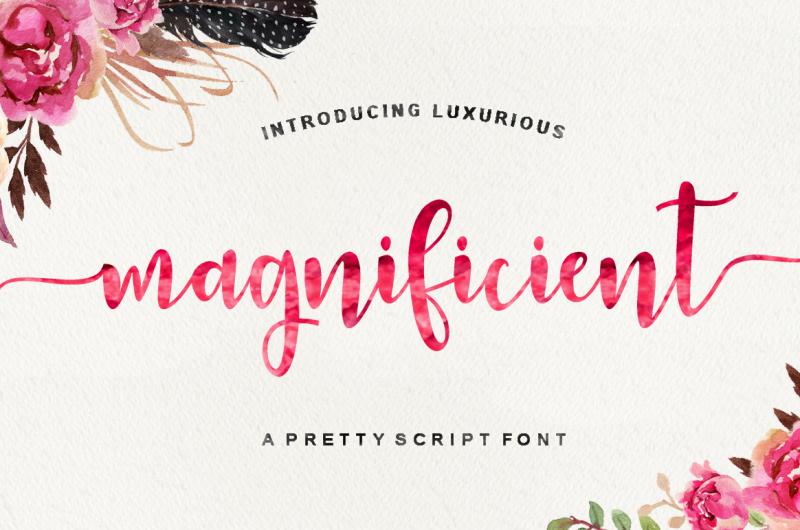 magnificient-script
