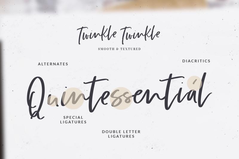 twinkle-twinkle-handwritten-font