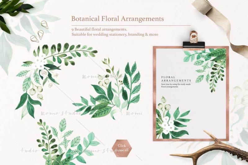 botanist-watercolor-greenery-leaves