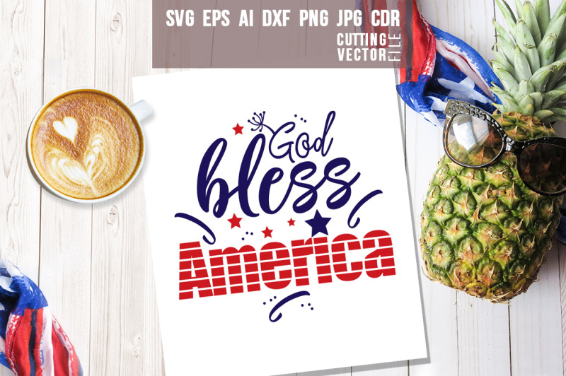 god-bless-america-quote-svg-eps-ai-cdr-dxf-png-jpg