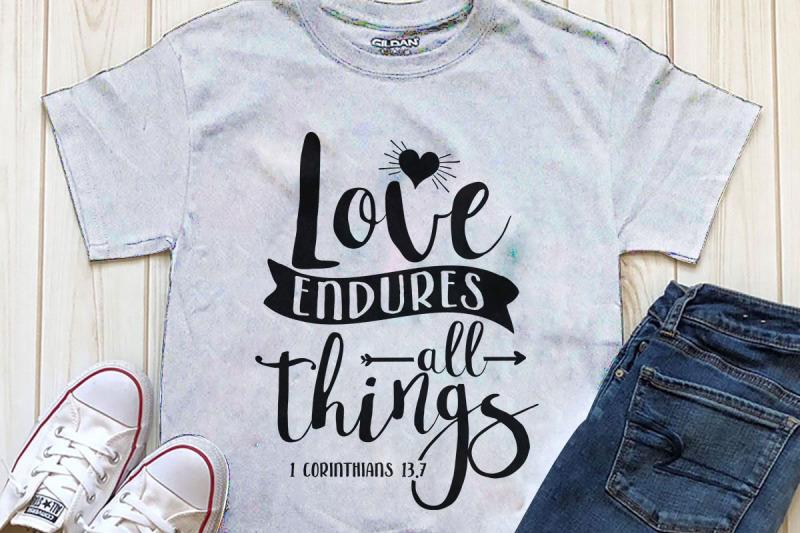 love-endures-all-things