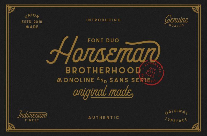 horseman-font-duo