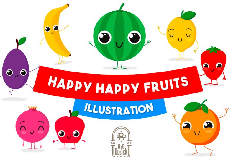 happy-happy-fruits-illustration