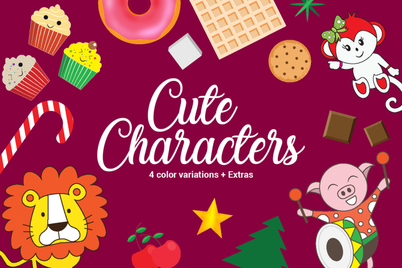 cute-characters-extras