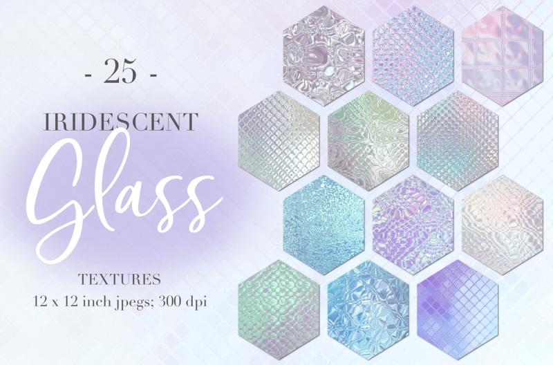 iridescent-glass-textures