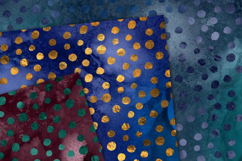 dreaming-dots-seamless-patterns