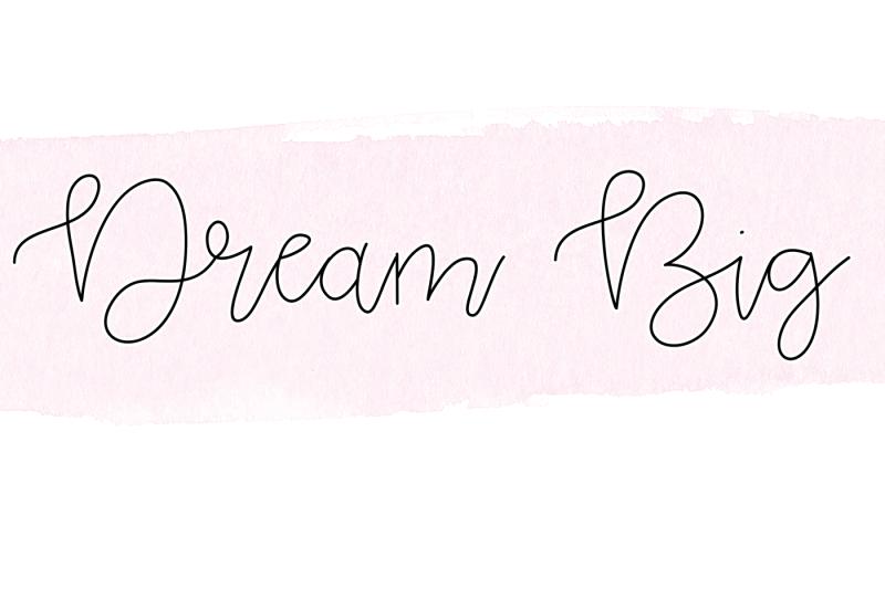 pink-lemonade-handwritten-script-with-watercolor-textures