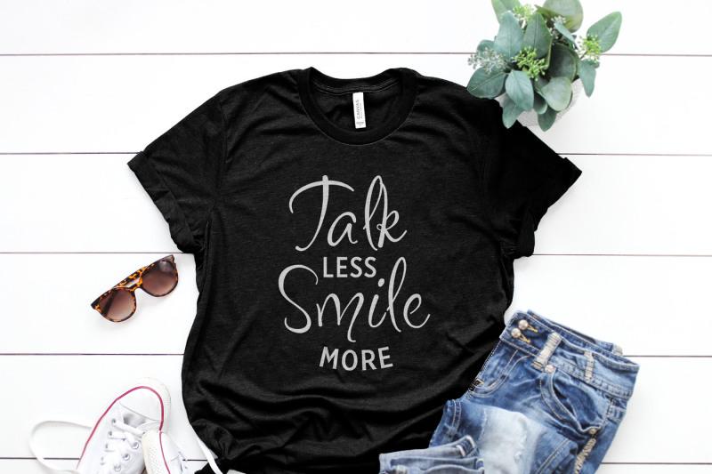 talk-less-smile-more