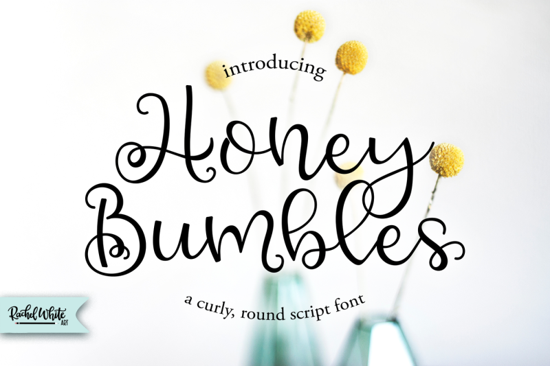 honey-bumbles-a-curly-round-script