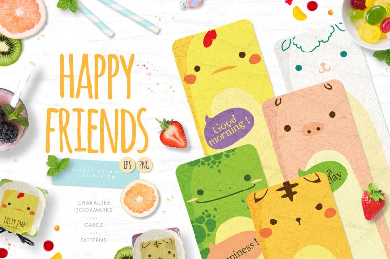 happy-friends-cute-animal