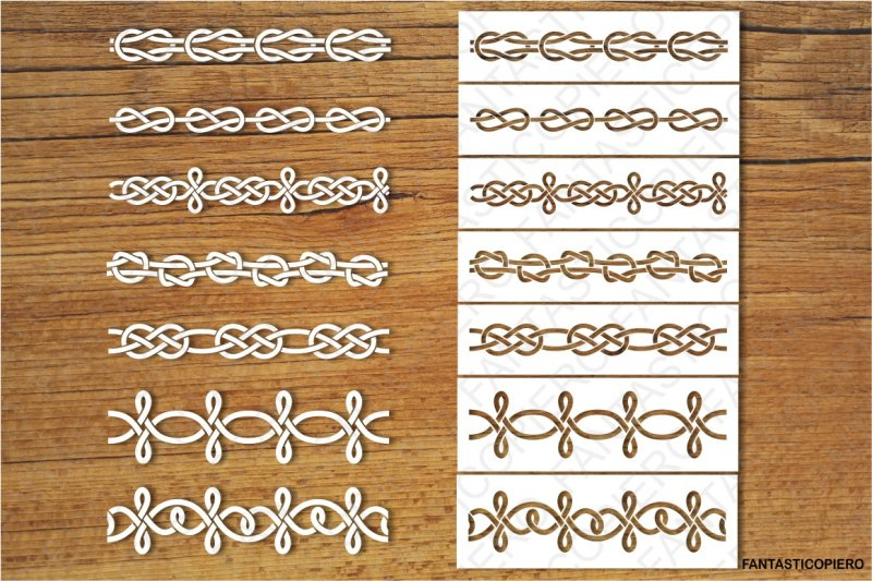 decorative-knots-and-stencil