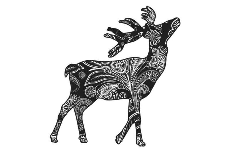 mandala-deer-svg-dxf-eps-png