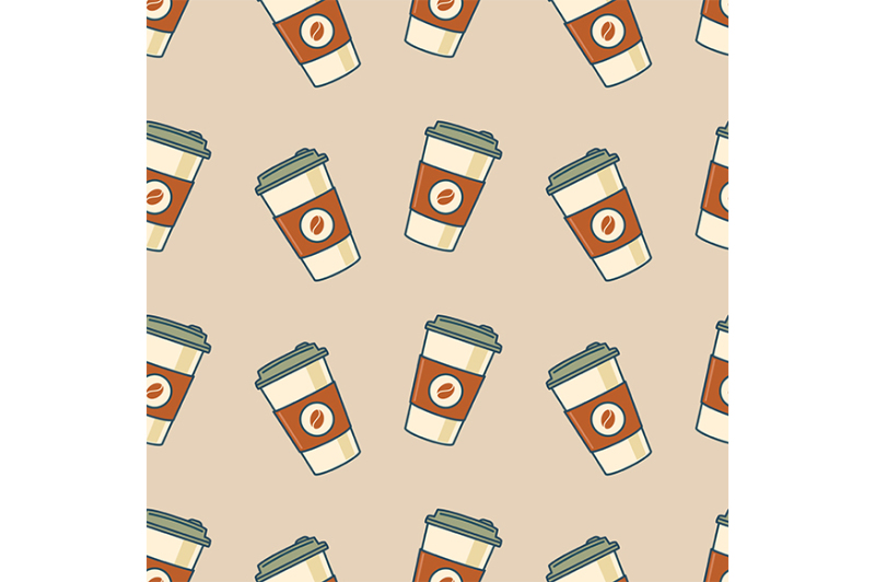 paper-coffee-cups-seamless-pattern-retro-style-vector-illustration