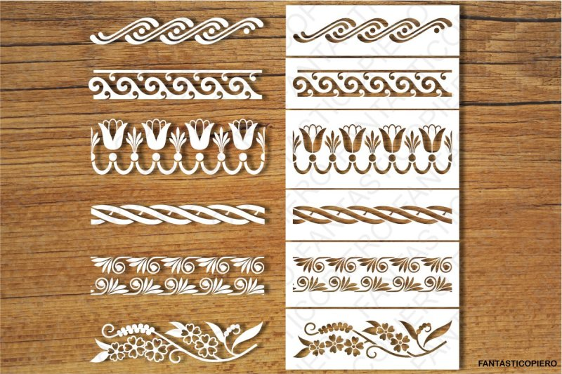 decorative-borders-and-stencil