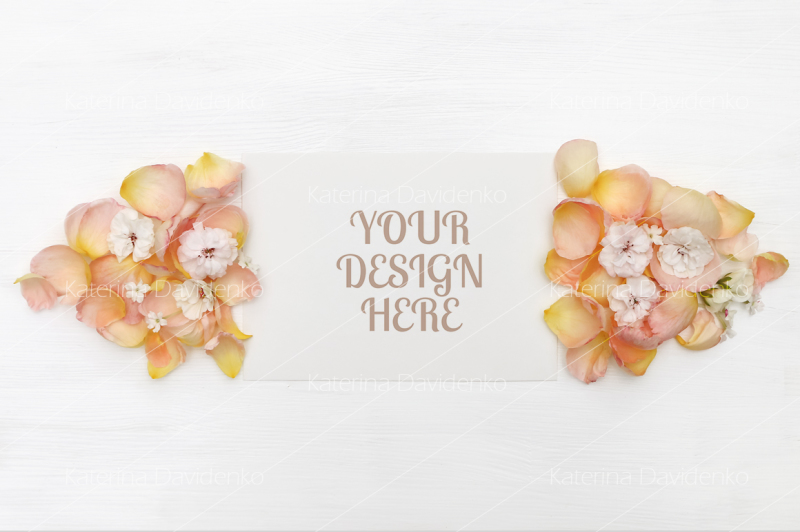 paper-mockup-with-rose-petals-flatlay