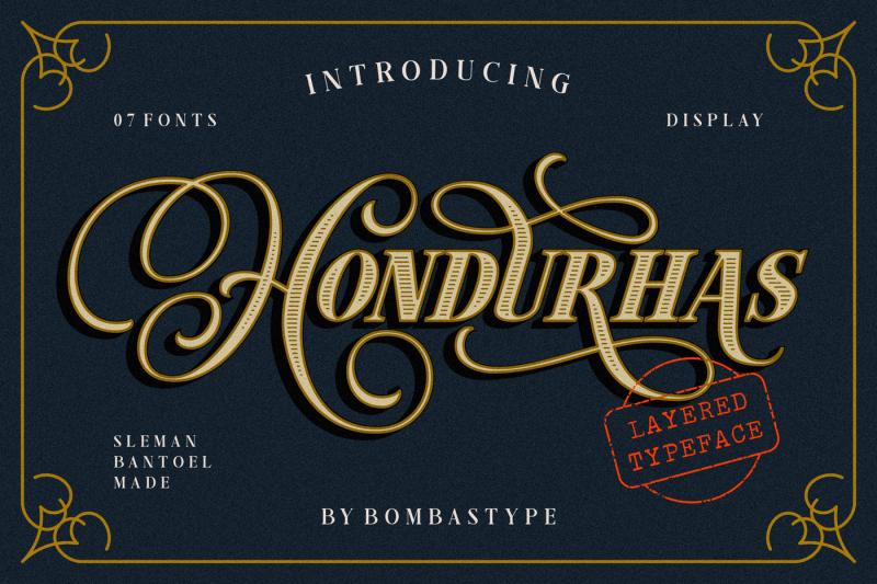 hondurhas-layered